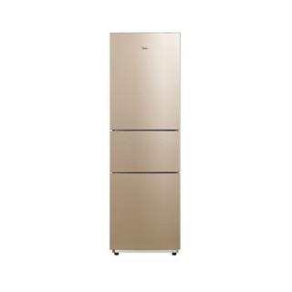 Midea 美的 213L家用小型三门三开门双门式超薄节能双开门中型冷柜电冰箱