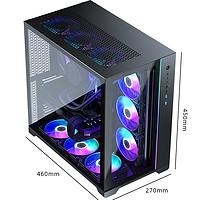 16日0点:PHANTEKS 追风者 MG-NE620Q ARGB电脑机箱