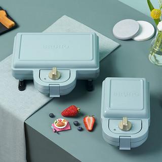 bruno日本轻食机家用早餐机吐司压烤机华夫饼电饼铛姆明三明治机