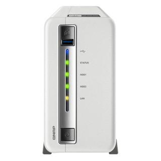 QNAP 威联通 TS212P3家庭私有云盘网络存储个人服务器 两盘位212P3 NAS