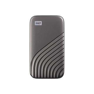WD 西部数据 My Passport 随行SSD版 Type-C固态移动硬盘 1TB