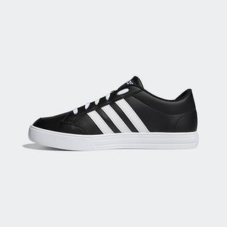 adidas 阿迪达斯 黑卡会员:阿迪达斯官网 adidas VS SET 男鞋场下篮球运动鞋BC0130 44.5 亮白/亮白/亮白