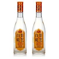景芝 白干 老字号 52%vol 白酒 500ml*2瓶 双支装