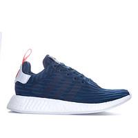 历史低价、银联返现购:adidas 阿迪达斯 NMD_R2 PK 男士休闲运动鞋