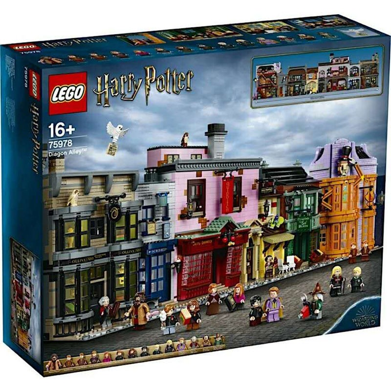 LEGO 乐高 Harry Potter哈利·波特系列 75978 对角巷