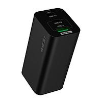 ELECJET 电友 X21 化镓手机充电器 65W 黑色 2C1A