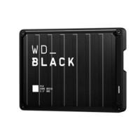 Western Digital 西部数据 P10系列 2.5英寸 USB3.2便携式移动硬盘 5TB 黑色