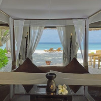 有效期至21年12月!马尔代夫瓦宾法鲁悦榕庄3天2夜110平方米海景泳池别墅套餐
