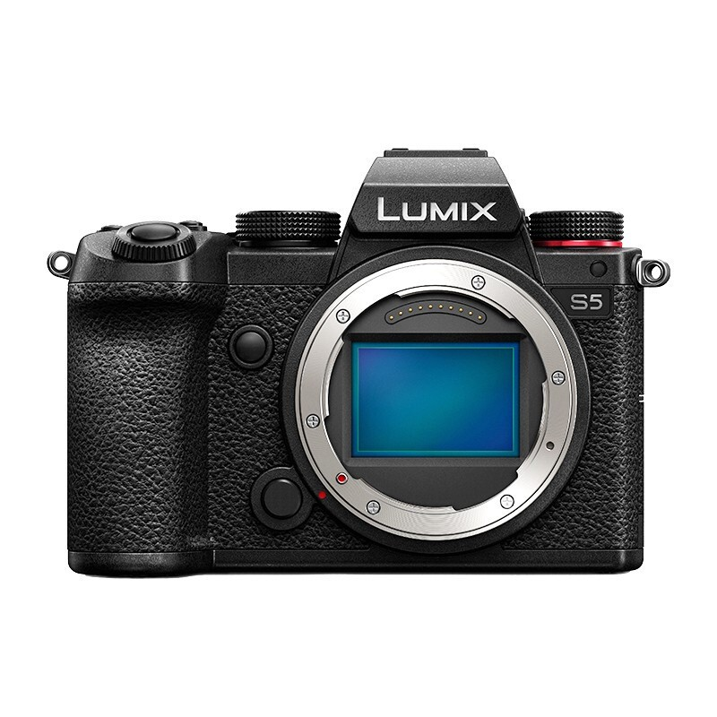 Panasonic 松下 LUMIX S5 全画幅 微单相机 黑色 单机身