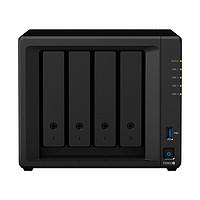 Synology 群晖 DS920+ 4盘位 NAS存储 黑色(J4125、4GB、无盘)
