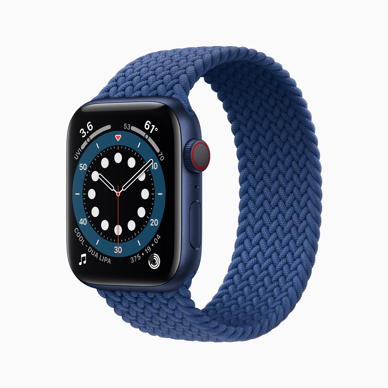 苹果 Apple Watch Series 6 智能手表 32GB (ECG、GPS、扬声器、温度计)