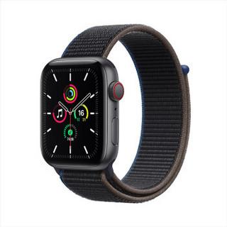 Apple 苹果 Watch SE 智能手表 GPS 蜂窝款 44mm 木炭色