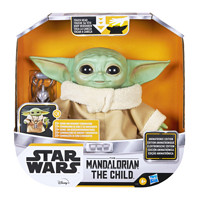 Prime会员:Hasbro 孩之宝《曼达洛人》The child 尤达宝宝 多效声动版人偶
