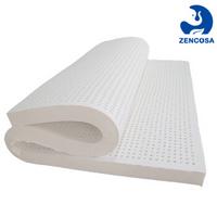 双11预售:ZENCOSA 最科睡 天然乳胶床垫 180*200*5cm 带床垫套