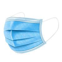 LA NOUVELLE FAMILLE 新世家族 QCG106 一次性医用口罩 儿童款 50片*2包 蓝色