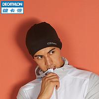 迪卡侬帽子男运动帽女春季户外休闲跑步速干透气保暖针织帽RUNC