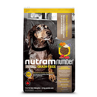 PLUS会员:nutram 纽顿 T27 无谷鸡肉配方 狗粮 6kg