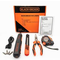 BLACK&DECKER 百得 BD40HT-A9 智能电动螺丝起子8件工具套装