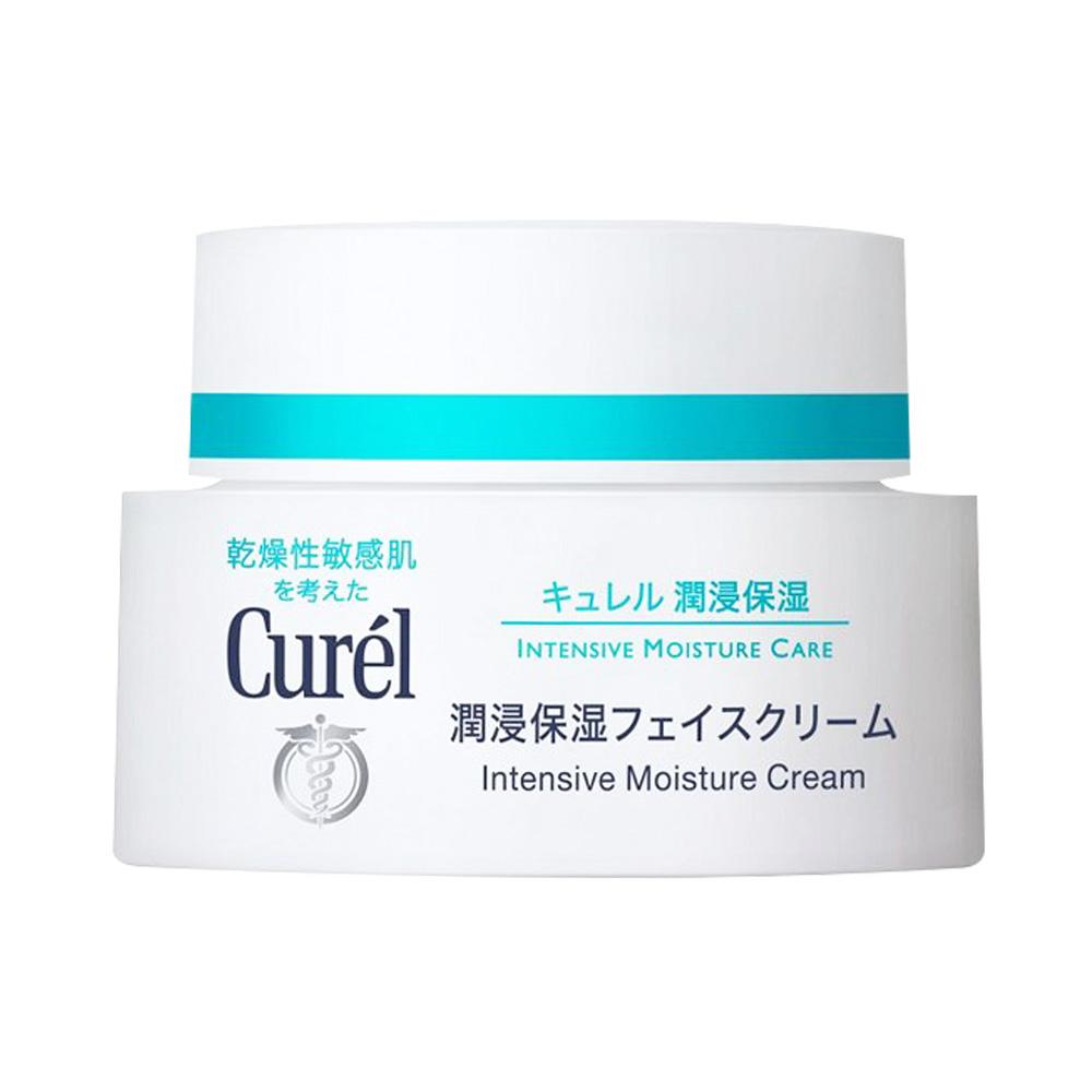 Curel 珂润 润浸保湿脸部护理系列润浸保湿滋养乳霜 40g