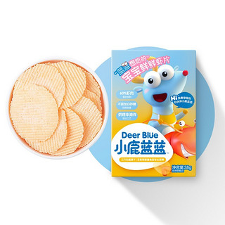 Deer Blue 小鹿蓝蓝 宝宝零食鲜虾片 38g