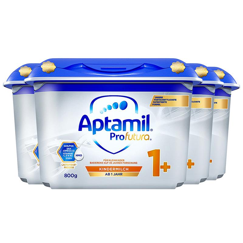 Aptamil 德国爱他美 白金版 幼儿配方奶粉 1+段 800g 4罐