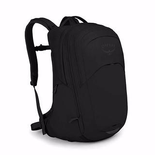现货小鹰OSPREY RADIAL 光线 34 (26 8)豪华城市通勤双肩背包配防雨罩 正品可注册 新款 黑色Black