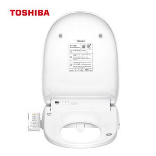 TOSHIBA 东芝 智能马桶盖 混气清洗  水温调节洁身器