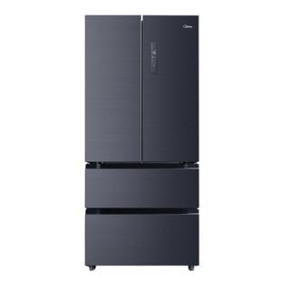 美的(Midea)508升多门对开冰箱19分钟急速净味除菌一级能效双变频温湿精控智能家电冰箱BCD-508WTPZM(E)+凑单品