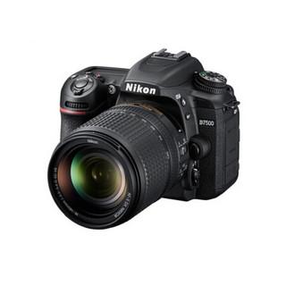 Nikon 尼康  D系列 D7500 单反相机(单镜头套机、黑色、F3.5、18-140mm ED VR)