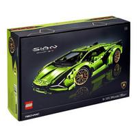 有券的上:LEGO 乐高 Technic科技系列 42115 兰博基尼 Sián FKP 37