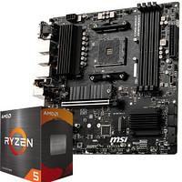 MSI 微星 B550M PRO-VDH WIFI电脑主板 +AMD 锐龙5 5600X 处理器 板U套装