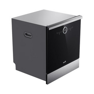 VATTI 华帝 JWV10-E5 嵌入式洗碗机 10套 黑色