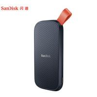 閃迪(SanDisk)1TB Type-c E30移動硬盤 固態(PSSD)極速移動版 傳輸速度520MB/s 三年質保