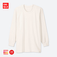 UNIQLO 优衣库 HEATTECH ULTRA WARM 418829 男款圆领T恤