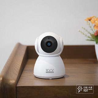 XVV xiaovv智能云台摄像机 2K升级版支持米家app远程控制