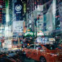 PICA Photo 拾相记 阿莱西奥·特雷罗托雷 《不夜纽约》28x33cm 黑金画框 内衬装裱 限量50版