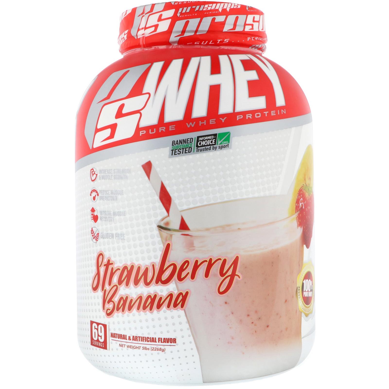 海德力乳清蛋白粉 草莓香蕉味 5磅