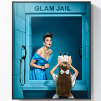 巴西藝術家 波爾·克魯茲 攝影作品《華麗監獄 4號》