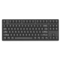 iKBC W200 87键 2.4G无线机械键盘 黑色 Cherry红轴 无光