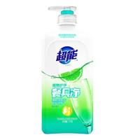 PLUS会员:超能 APG系列 洗洁精 1kg 晨风青柠