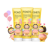 POND'S 旁氏 泡泡玛特米粹洁面乳膏 120g*3(赠 凡士林身体乳30ml)