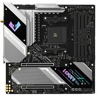铭瑄(MAXSUN)MS-iCraft B550M WIFI 电竞之心主板 带背板/WiFi6无线网卡/支持5600X/3700X(AMD/B550/AM4)