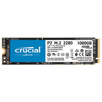 Crucial 英睿达 P2系列 M.2 NVMe 固态硬盘 1TB