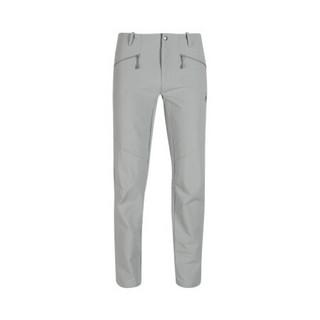 MAMMUT猛犸象Trekkers男士防泼水透气弹力软壳裤 岩灰色 M
