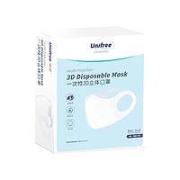 UNIFREE 一次性3D立体口罩 30片 *4件