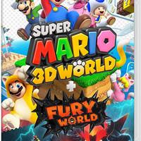 Nintendo 任天堂 Switch游戏卡带《超级马力欧3D世界+狂怒世界》