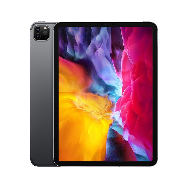 Apple 苹果 iPad Pro 4 代 2020款 11英寸 平板电脑(2388*1668dpi、A12Z、128GB、WLAN版、深空灰色、MY232CH/A)