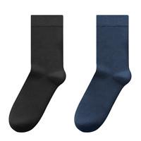 J.ZAO 京东京造 6660286 男士商务休闲袜 4双装