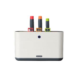 摩飞电器(Morphyrichards)刀具抑菌砧板刀架家用小型智能紫外线分类厨具套装 MR1000 *2件