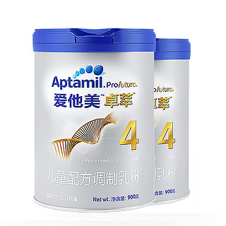 Aptamil 爱他美 卓萃系列 白金版 儿童奶粉 国行版 4段 900g*2罐